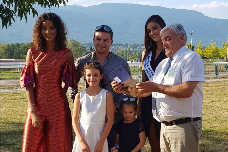 Journée de l'élégance avec Miss France 2014 et Miss Rhône-Alpes 2017